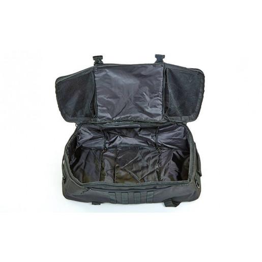 Рюкзак-сумка трансформер SILVER KNIGHT 40 литров TY-186-BK
