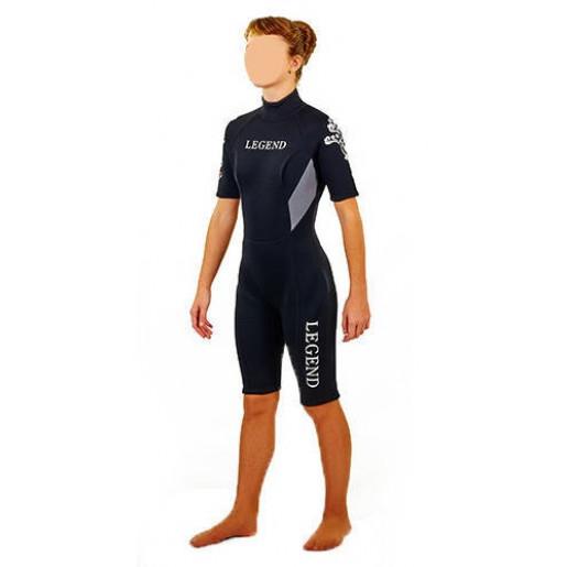 Гидрокостюм для серфинга и водных лыж женский LEGEND PL-6406W