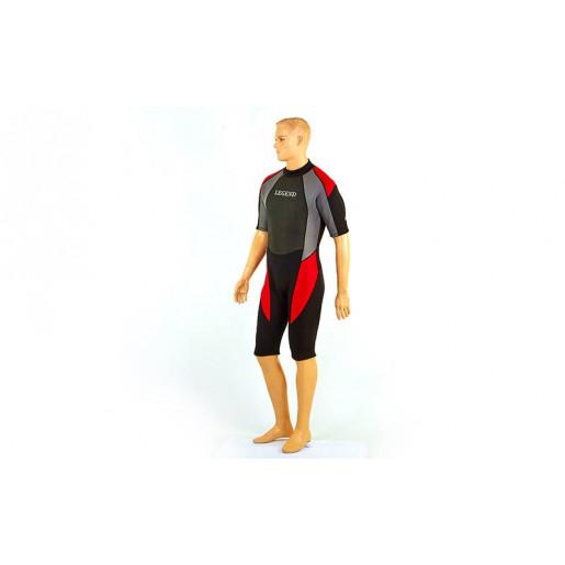 Гидрокостюм для серфинга и водных лыж мужской LEGEND PL-6407