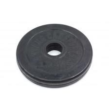 Блины (диски) 1,25 кг обрезиненные d-30мм ТА-1441