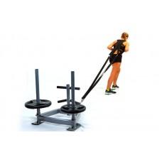 Сани тренировочные для кроссфита+петли CF6236 SLED