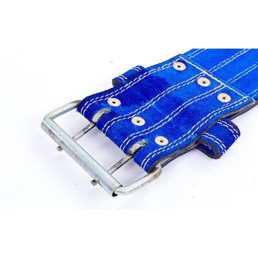 Пояс для пауэрлифтинга кожаный ZEL ZB-01025