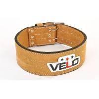 Пояс для пауэрлифтинга кожаный VELO VL-6645