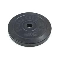 Блины (диски) 5 кг обрезиненные d-30мм ТА-1443