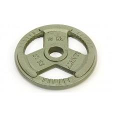 Блины (диски) 10кг стальные с тройным хватом окрашенные d-52мм TA-8026-10